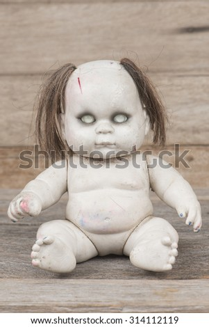 Weird Doll  - stock photo