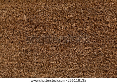 welcome carpet - stock photo