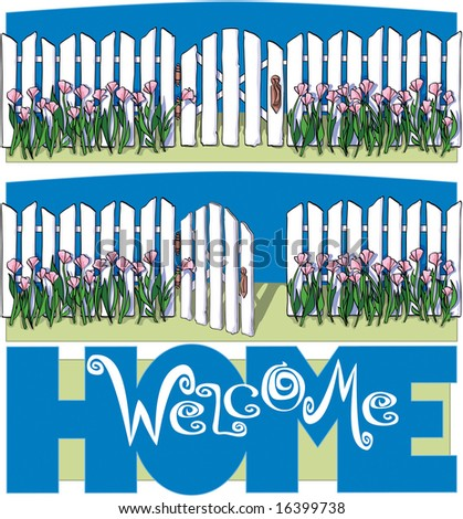 Welcome Home - stock photo
