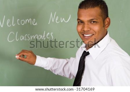welcome new classmates - stock photo