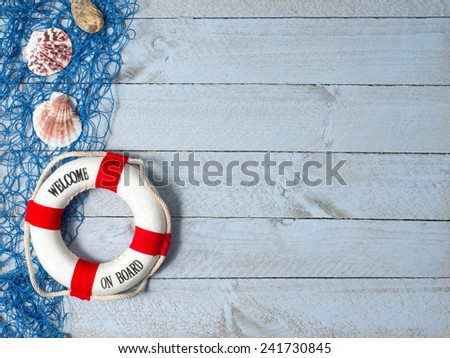 Welcome on Board - stock photo