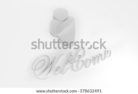 Welcome Symbol Stock Illustration 378632491 Shutterstock