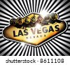Welcome to Fabulous Las Vegas Gold - stock vector
