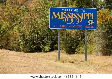 Welcome to Mississippi State Sign.