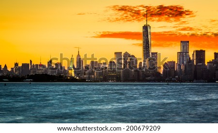Welcome to New York City - stock photo