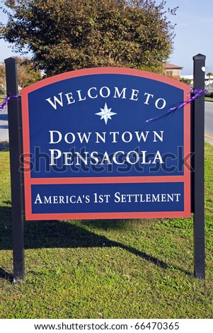 Welcome to Pensacola, Florida