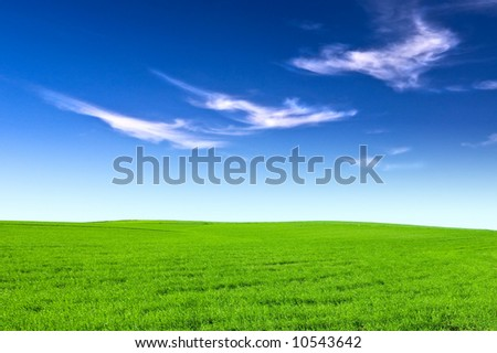 Welcome to Spring - stock photo