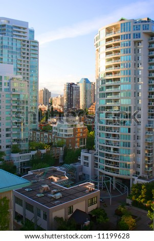 Welcome to the City of Vancouver, home of the 2010 Winter Olympics - stock photo