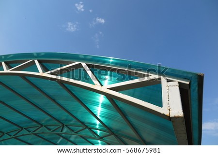 Polycarbonate Roof Stock Images Royalty Free Images