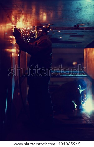 welder worker profession