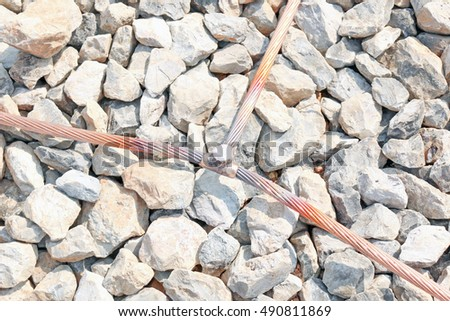 Ground wire stock images royalty free images vectors shutterstock welding copper ground wire in substation keyboard keysfo Choice Image