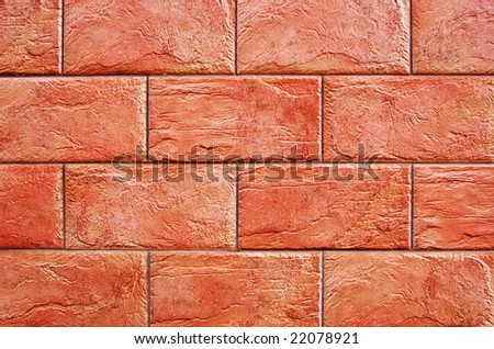 Well-done decorative brick wall