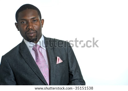 Well-Dressed Man - stock photo