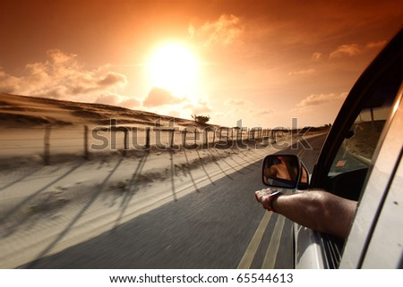 Well drive - stock photo