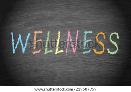 Wellness - stock photo