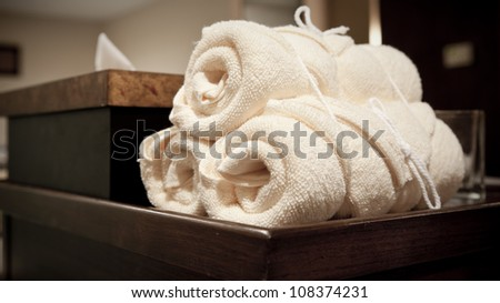 Wellness and spa concept - stock photo