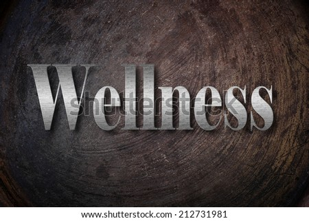 Wellness background with text