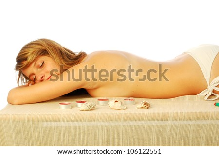 Wellness Center - In a health club for a healthy body care 416 - stock photo