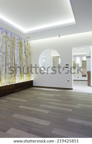 Wellness interior - stock photo