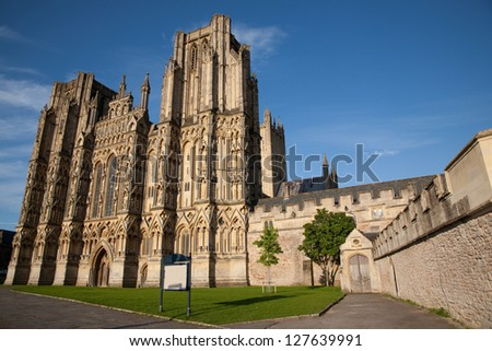 Wells Cathedral Church, England, UK