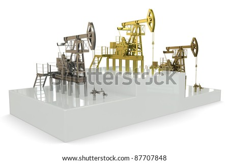 "Wells - winners of ""the biggest oil production"""