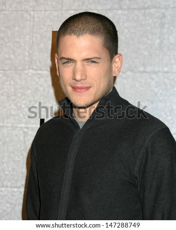 Wentworth Miller at the Prison Break Wrap Party Twentieth Century Fox Lot Los Angeles, CA April 27, 2006 - stock photo