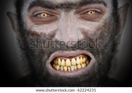 Werewolf. - stock photo