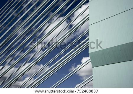 west bridge near industrial area frankfurt hoechst germany - Cool Architecture Office Buildings
