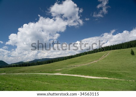 west carpathian landscape