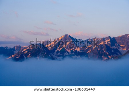 West Caucasus - stock photo