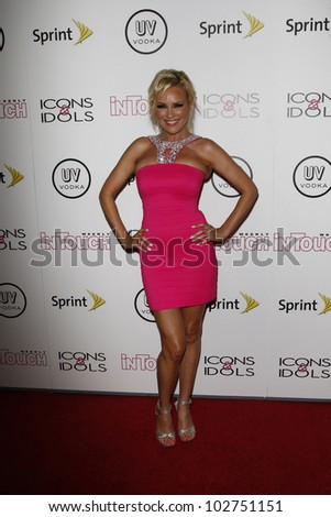 WEST HOLLYWOOD - AUG 28: Bridget Marquardt at the 4th annual Icons & Idols party at the Sunset Tower Hotel in West Hollywood, California on August 28, 2011