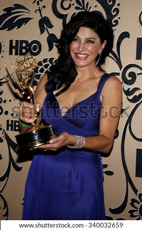 WEST HOLLYWOOD, CALIFORNIA - September 20, 2009. Shohreh Aghdashloo at the HBO POST EMMY Party held at the Pacific Design Center, West Hollywood, Los Angeles.   - stock photo