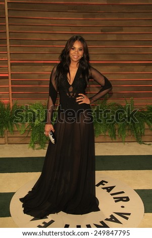 WEST HOLLYWOOD - MAR 2:: Regina Hall at the 2014 Vanity Fair Oscar Party on March 2, 2014 in West Hollywood, California - stock photo