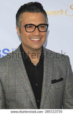 WEST HOLLYWOOD - MAY 18: Jaime Camil at the CBS Television Studios 3rd Annual Summer Soiree Party held at The London Hotel on May 18, 2015 in West Hollywood, California - stock photo
