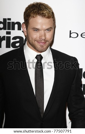 WEST HOLLYWOOD - MAY 17: Kellan Lutz at the premiere of 'Love, Wedding, Marriage' held at the Pacific Design Center in West Hollywood, California on May 17, 2011.