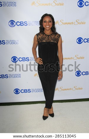 WEST HOLLYWOOD - MAY 18: Nischelle Turner at the CBS Television Studios 3rd Annual Summer Soiree Party held at The London Hotel on May 18, 2015 in West Hollywood, California - stock photo
