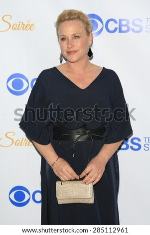 WEST HOLLYWOOD - MAY 18: Patricia Arquette at the CBS Television Studios 3rd Annual Summer Soiree Party held at The London Hotel on May 18, 2015 in West Hollywood, California - stock photo