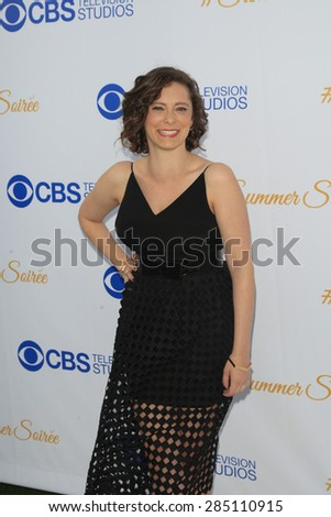 WEST HOLLYWOOD - MAY 18: Rachel Bloom at the CBS Television Studios 3rd Annual Summer Soiree Party held at The London Hotel on May 18, 2015 in West Hollywood, California - stock photo