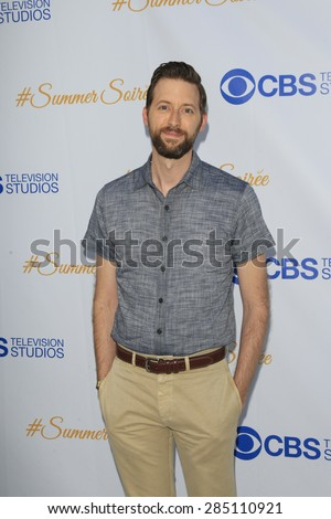 WEST HOLLYWOOD - MAY 18: Rob Kerkovich at the CBS Television Studios 3rd Annual Summer Soiree Party held at The London Hotel on May 18, 2015 in West Hollywood, California - stock photo