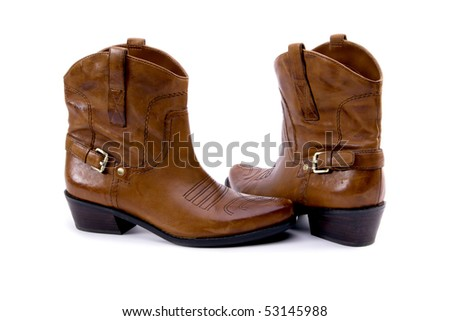Western Boots - stock photo