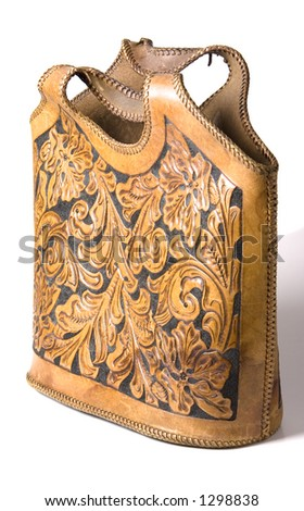 Western ladies handbag - stock photo
