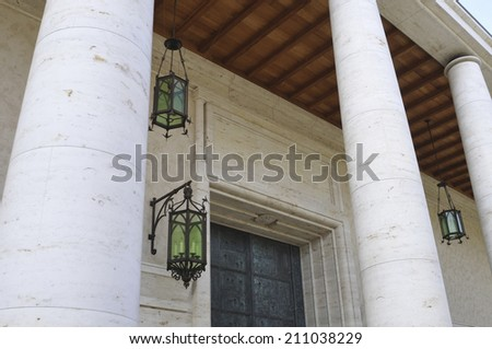 Western Style House - stock photo