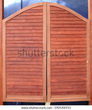 western swinging Saloon doors & Western Saloon Doors Stock Images Royalty-Free Images \u0026 Vectors ... Pezcame.Com