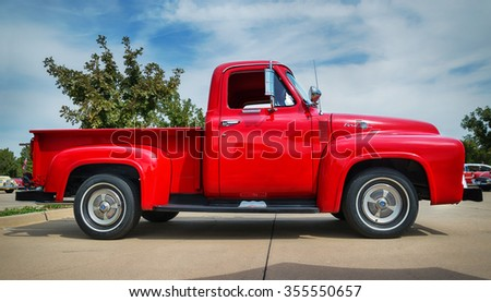 Westlake Texas October 17 2015 Side Stock Photo 355550657