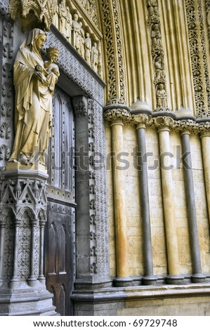 Westminster Abbey, - stock photo