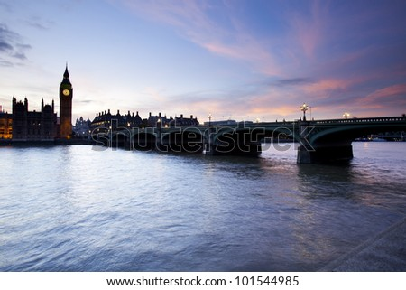 Westminster,London - England, - stock photo