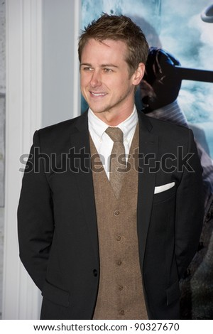 "WESTWOOD, CA - DECEMBER 6: Actor Richard Reid arrives at the premiere of ""Sherlock Holmes 2: A Game of Shadows"" at Regency Village Theater on December 6, 2011 in Westwood, California - stock photo"