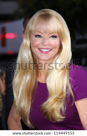 "WESTWOOD CA - OCTOBER 1: Actor Charlotte Ross is at ""Seven Psychopaths"" premiere at Bruin Theatre October 1, 2012 Westwood, CA - stock photo"
