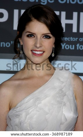 """WESTWOOD, CALIFORNIA - November 30, 2009. Anna Kendrick at the Los Angeles premiere of """"Up In The Air"""" held at the Mann Village Theater, Westwood.   - stock photo"""