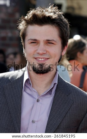 WESTWOOD, CALIFORNIA. October 9, 2005. Freddy Rodriguez at the DreamWorks Pictures Premiere of 'Dreamer' at the Mann Village Theatre in Westwood, California United States.